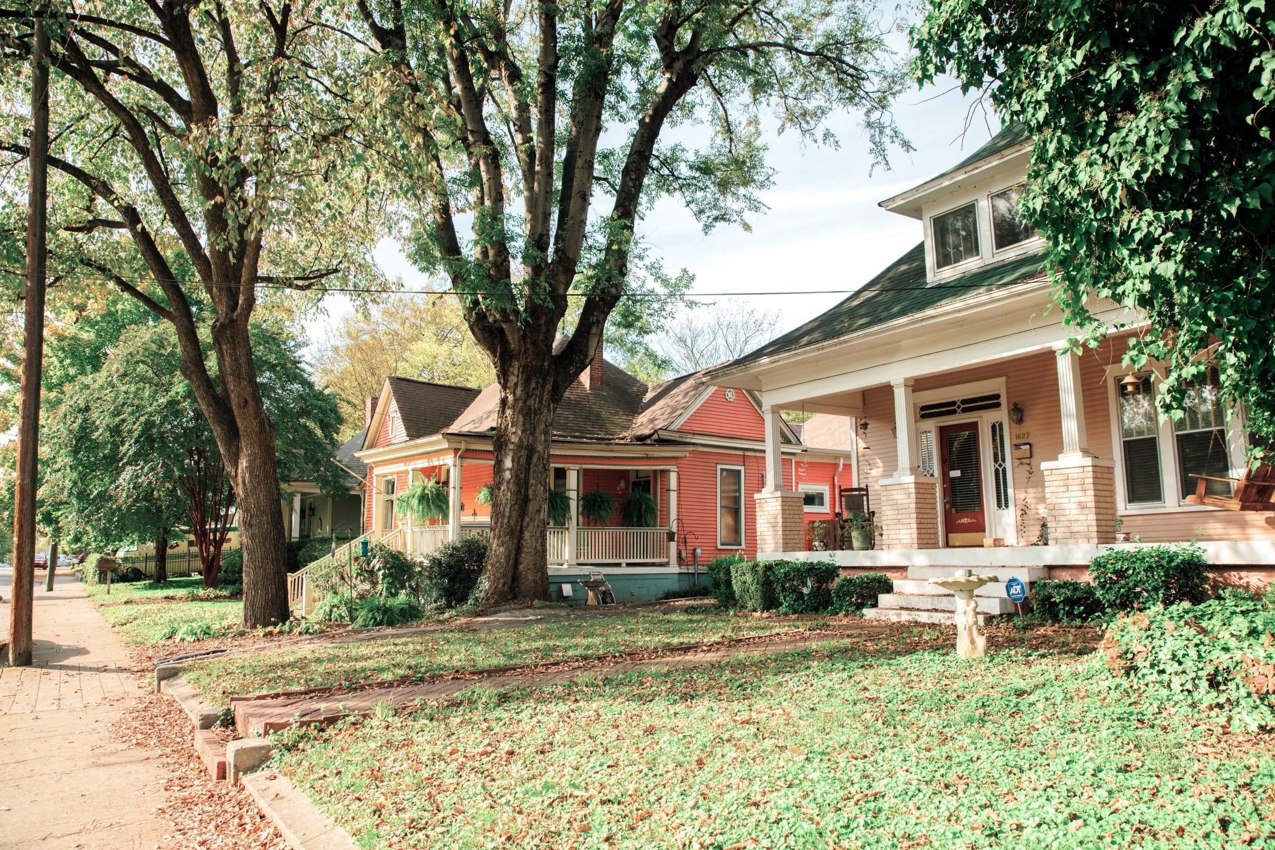 East Nashville neighborhood